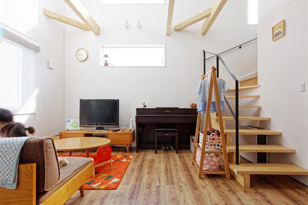 流山市の注文住宅「かわいい、そして実用的。 家族とのコミュニケーションもたのしい南欧風の家 -nagomino-」