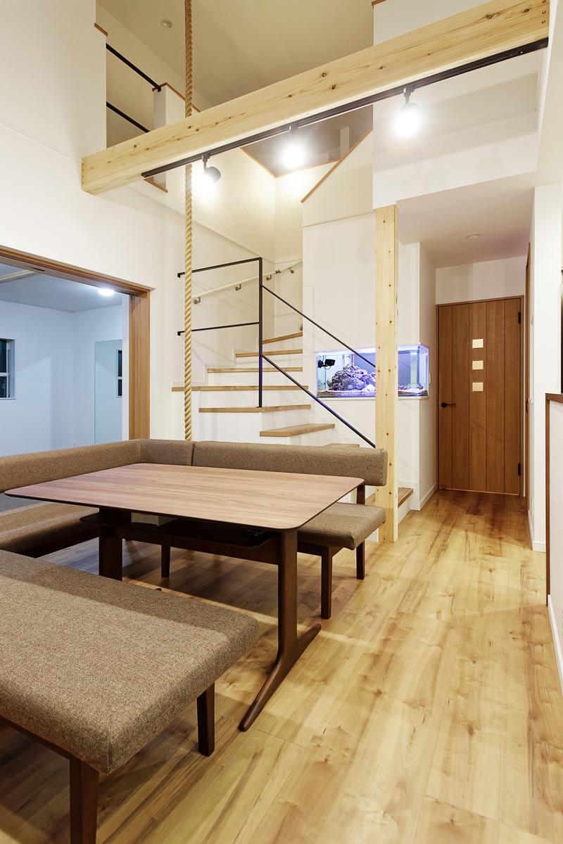 鎌ケ谷市の注文住宅「新体操ができる家。」